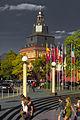Roter Turm am Kurfürstlichen Palais in Trier.jpg