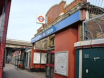 Royal Oak tube station Entrance.jpg