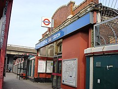 Royal Oak tube station Entrance.jpg