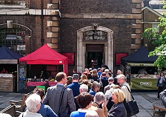 Royal Academy Summer Exhibition - Participants in the RA Summer Exhibition 2015 at St. James, Piccadilly, on Varnishing Day