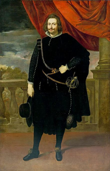 John II, Duke of Braganza waged the Restoration War and was acclaimed King John IV. Rubens John, Duke of Braganza.jpg