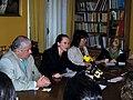 Rueda de prensa de la Canciller María Fernanda Espinosa desde Madrid España (1715680930).jpg