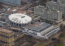 ein teilbereich des campus gelndes mit audimax und mensa gebude ia links oben abgerissen und neu gebaut - Uni Bochum Bewerbung