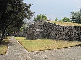 Benito Juárez, Mexico City - Ruins at the Mixcoac site