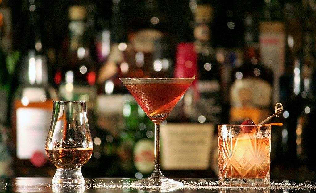 Rum, Manhattan, Tequila Old Fashioned (1)