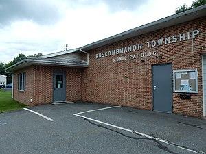 Ruscombmanor Township, Berks County, Pennsylvania - Image: Ruscombmanor Twp Municipal Bldg, Berks Co PA