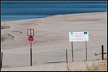 Die Grenze EU-Russland auf der Frischen Nehrung/Ostpreussen – Kaliningrad / Königsberg fast wieder deutsch geworden