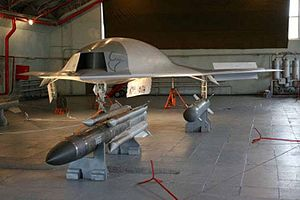 Mikoyan Skat - Image: Russian UCAV Mi G «Scat»