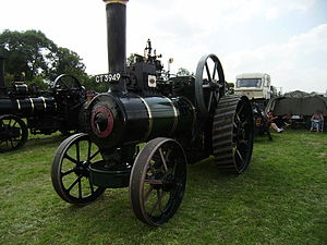 Ruston, Proctor and Company - Ruston, Proctor and Co. engine at Cromford steam fair 2008