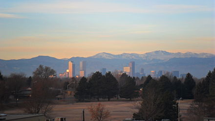 Sunrise in Denver on a typical January morning SAM 0417.JPG