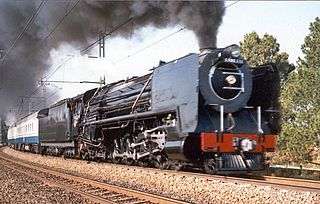 South African Class 15F 4-8-2 class of 255 South African 4-8-2 locomotives