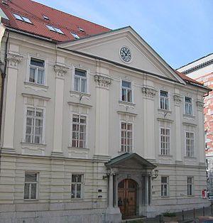 Slovenian Academy of Sciences and Arts - Image: SAZU Ljubljana