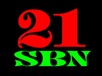 Southern Broadcasting Network - SBN 21 Logo from 1996 to 2005.