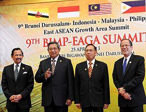 SBY dan para pemimpin ASEAN 25-04-2013
