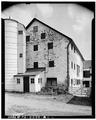 SIDE VIEW - Stone Barn A, State Route 132, Neshaminy, Bucks County, PA HABS PA,9-NESH.V,1A-2.tif