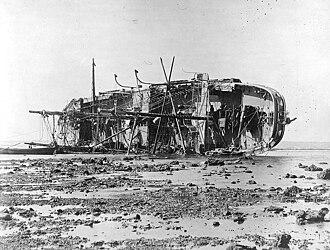 Samoan crisis - Image: SMS Adler 1889 2