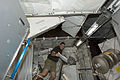 STS-133 Steve Bowen works in the Permanent Multipurpose Module.jpg