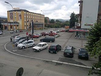 Požega, Serbia - Image: Sa Željkinog prozora panoramio