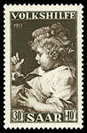 Saar 1953 346 Peter Paul Rubens - Das Kind mit dem Vogel.jpg