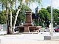 Sachsen, Chemnitz, Saxoniabrunnen, Erstweihe 09.07.1893, wieder aufgebaut 02.07.2011, Aufnahme vom 03.09.2011.jpg