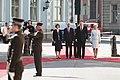 Saeimas priekšsēdētāja piedalās Šveices prezidenta oficiālajā sagaidīšanas ceremonijā (41198746385).jpg