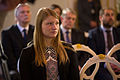 Saeimas priekšsēdētāja sveic Latvijas paralimpisko vienību un Almu Vītolu (22954822509).jpg