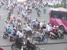 Ruch miejski w Ho-Chi-Minh