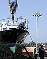 Sailors prepare admiral's barge 120428-N-IR734-072.jpg