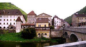 Saint-Hippolyte, Doubs - Doubs River