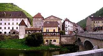 Saint-Hippolyte, Doubs - Doubs River