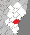 Saint-Louis-de-Gonzague (Chaudière-Appalaches) Quebec location diagram.png