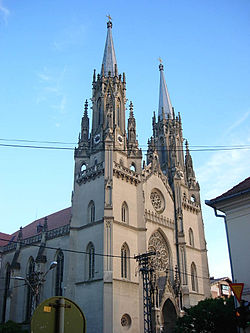 Saint Gerhard the Bishop and Martyr Roman Catholic Church, Vršac, Vojvodina, Serbia - 20060827.jpg