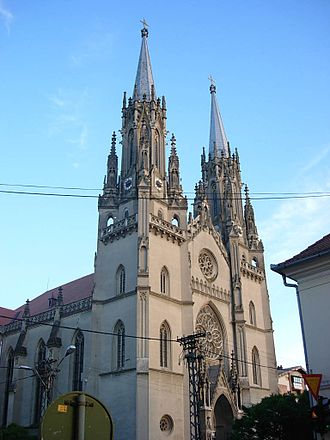 Religion in Serbia - Roman Catholic Cathedral in Vršac