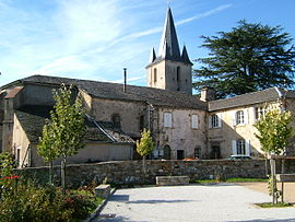 The church in Le Masnau-Massuguiès