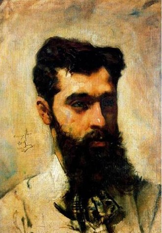 Casimiro Sainz - Self-portrait (1878)