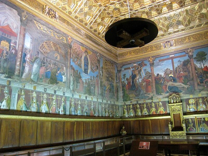 File:Sala Capitular (Catedral de Toledo), Toledo, Spain - 1.JPG