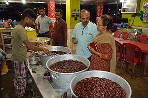 Purba Bardhaman district - A langcha shop in Saktigarh