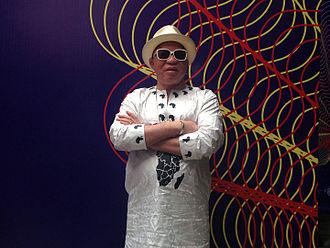 Salif Keita - Keita in 2015, Festival Internacional Cervantino, Mexico.