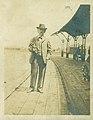 Samuel Clemens at Union Station, Hannibal, Missouri, June 3, 1902.jpg