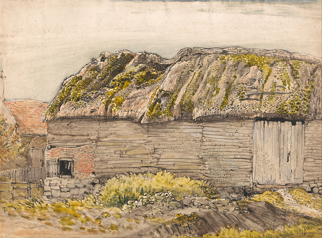 File Samuel Palmer A Barn With A Mossy Roof Shoreham