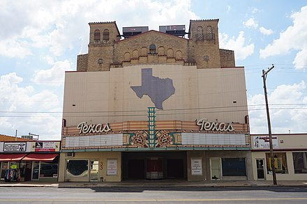 Former Texas Theater in downtown San Angelo San Angelo September 2019 13 (Texas Theatre).jpg