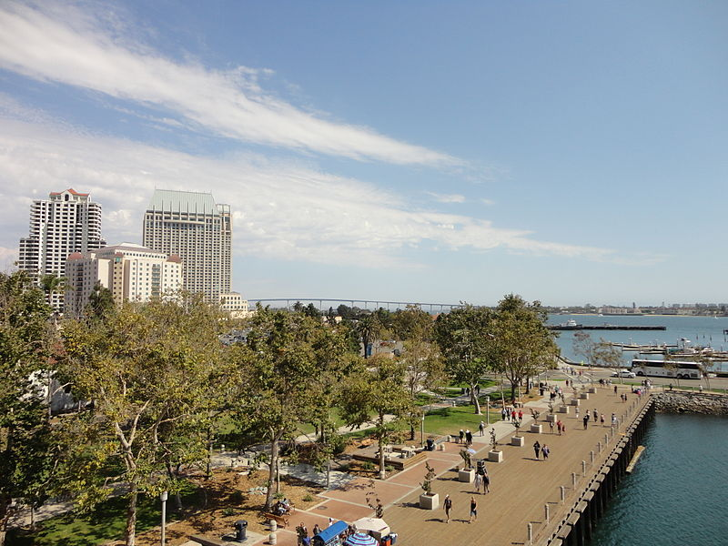File:San Diego Bay from USS Midway 1 2013-08-23.jpg