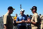 San Diego Chargers visit USS Ronald Reagan (CVN 76) 130828-N-QM098-023.jpg