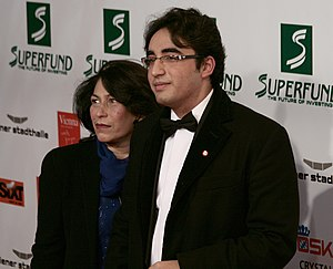 Sanam Bhutto and Bilawal Bhutto Zardari at the...