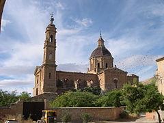 Ruinas del monasterio de Santa Fe (Zaragoza)