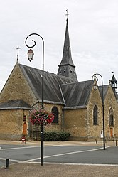 The church of Saint-Germain, in Savigné-l'Évêque