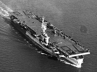 USS <i>Savo Island</i> Casablanca-class escort carrier of the US Navy