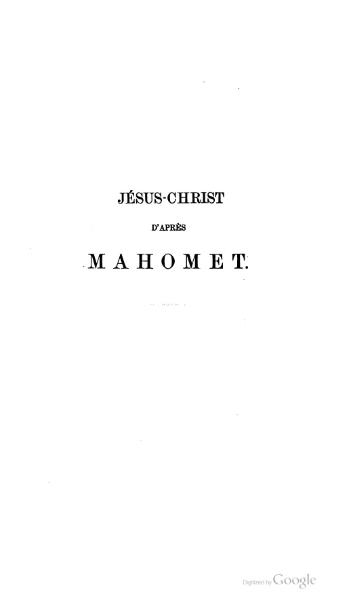 File:Sayous - Jésus-Christ d'après Mahomet.djvu