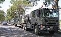 Scania P410 XT 6x4 tank transporter Kostrad Indonesian Army 1.jpg