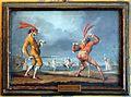 Scene della commedia dell'arte, fine xviii-inizio xix secolo 01.jpg